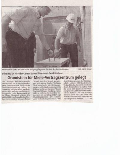 SWP_27.07.2005 - Grundsteinlegung