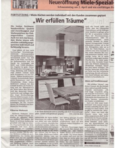 Wochenblatt_29.03.2006 - Neueröffnung Fortsetzg